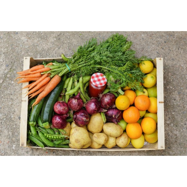 Cistella gran verdura  i fruita