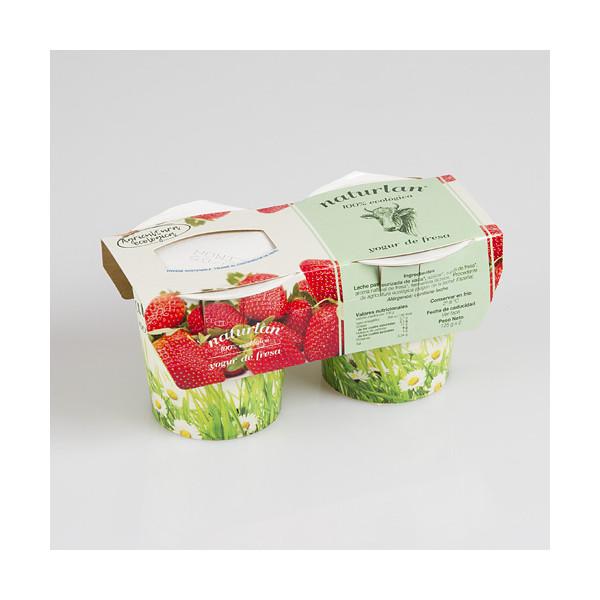 Iogurt de maduixa (2u)