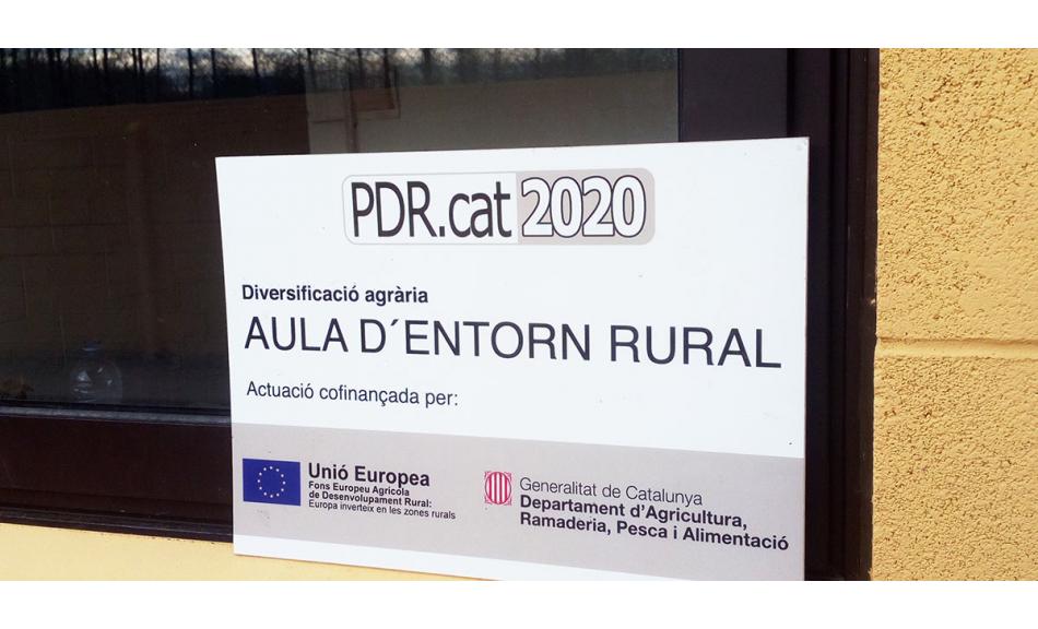 Projecte de Diversificació Agrària: Aula d'Entorn Rural